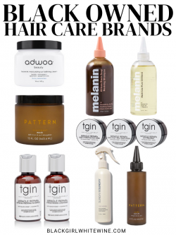 Black Owned Hair Care Brands
