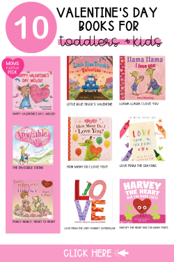 Valentine's Day Books for toddlers and kids