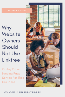WHY WEBSITE OWNERS SHOULD NOT USE LINKTREE