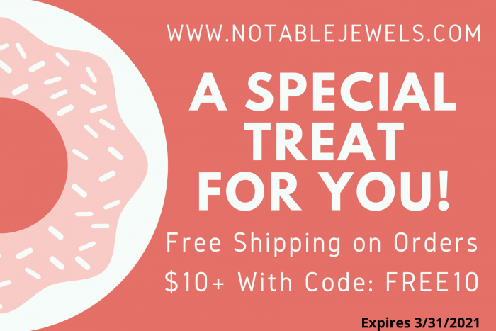 Free Shipping Code for Jewelry
