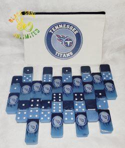 Tennessee Titans Domino Set