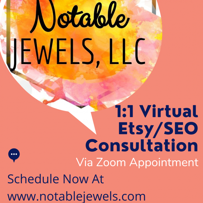 Etsy SEO and Shop Consultations