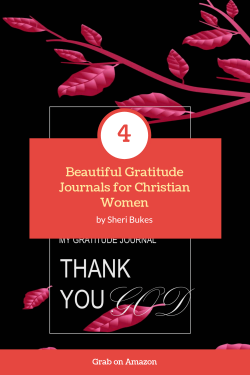 Gratitude Journal for Young Christian Women