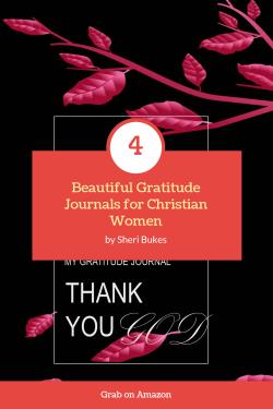 Gratitude Journal for Young Christian Women