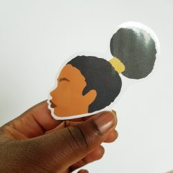Black Girl Sticker