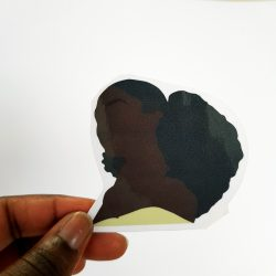 Black Girl Stickers