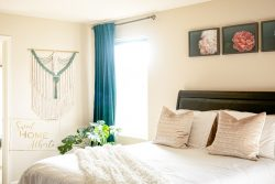 Bedroom decor – macrame wall hanging by Sweet Home Alberti
