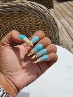Turks and Caicos nails