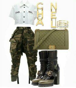 Chanel & Camo
