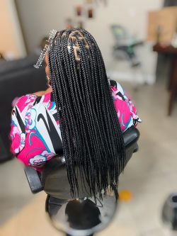 Medium Knotless Plaits