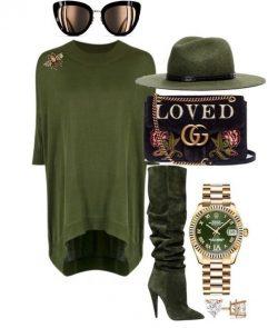 Loved Olive Green