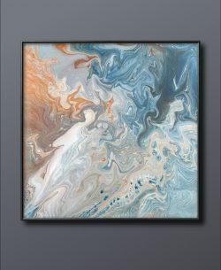 Acrylic Art piece – 14×14 canvas