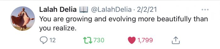 Positive Quotes from Lalah Delia