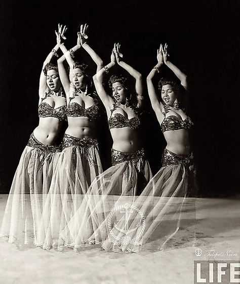 Samia Gamal in Miami – March 1952