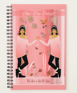 ANY -DAY PLANNER DIARY by Livz Design