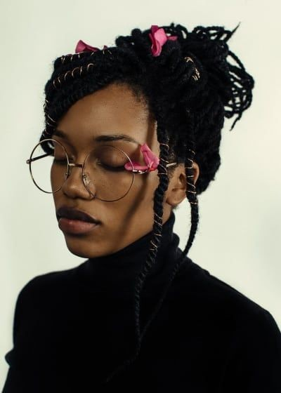 Art refrence, Black hair