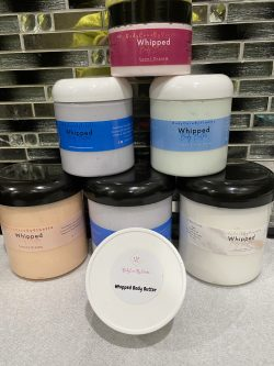 Part of my body butter collection
