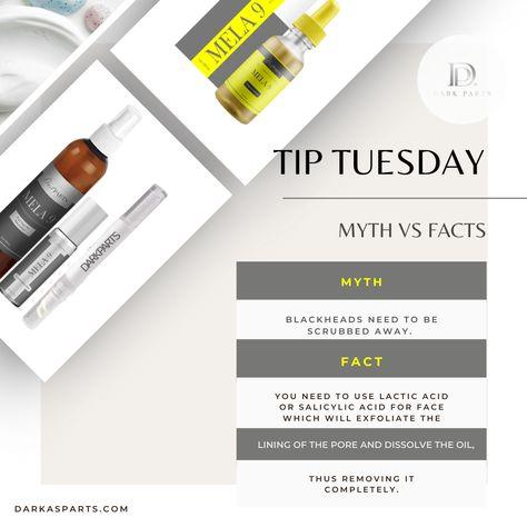 Tip Tuesday.. Acne Myth and fact
