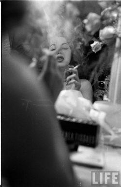 Samia Gamal by Loomis Dean, March 1952.