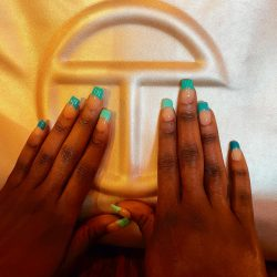 Nails x Telfar💅🏾