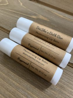 Peppermint Moisturizing Lip Balm
