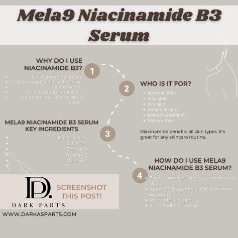 Mela9 Niacinamide B3 Serum