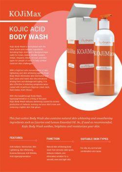 Koji Max Kojic Acid Body Wash