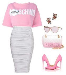 Pink Moschino