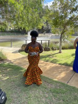 African Prom/formal dress