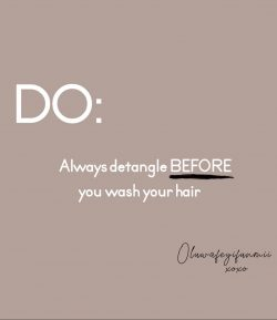 do you detangle before wash day?