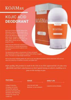 Kojic Acid Deodorant