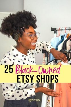 25 Black Owned Etsy Shops to Support & buy gifts from