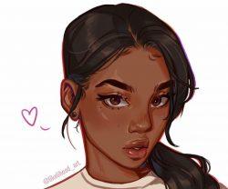 Black Girl Digital Art IG:likelihood_art