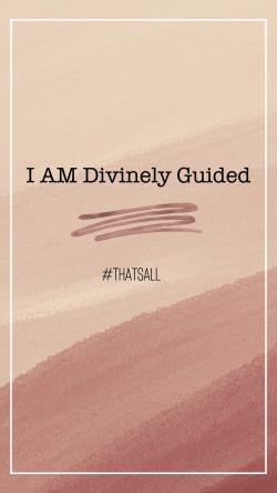 Divinely Guided