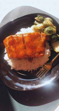 Natasha's Kitchen : Baked Teriyaki Salmon – Click Link for full recipe…