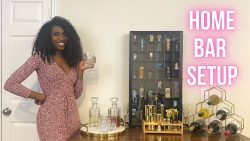 How to set you your Home Bar!