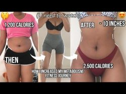 How I Increased my Metabolism to lose 56 Pounds of FAT with reverse dieting – YouTube