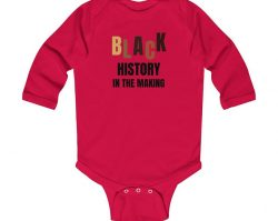 Black History in the Making onesie