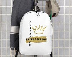 Melanated Entrepreneur bookbag