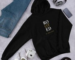 Rooted hoodie