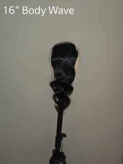 16″ Body Wave Closure