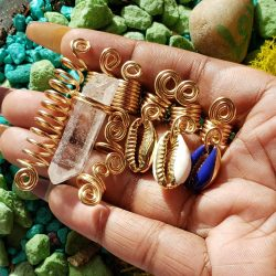 Hair Jewelry | Loc Charms | Hair Accessories