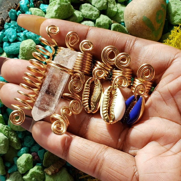 Hair Jewelry   Loc Charms   Hair Accessories