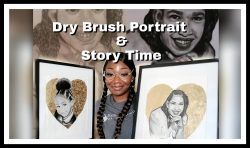 Dry brush instruction & a lil about myself!