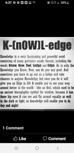 Knowledgeofself