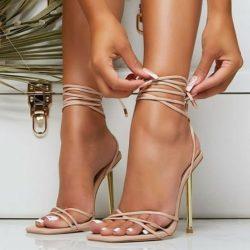 Open Toe & Laces