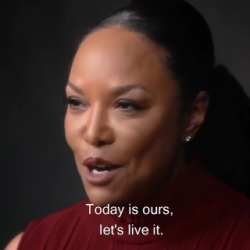 Ms. Lynn Whitfield, inspirational as she is