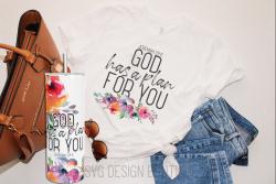 God Has a Plan Skinny Tumbler Design | Christian Tumbler PNG | Christian Gift | Christian Shirt  ...