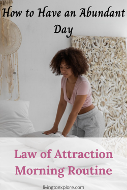 Law of Attraction morning routine
