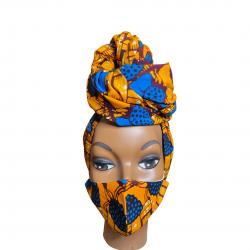 Headwrap & Mask set
